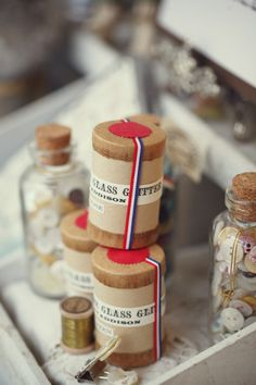 Vintage craft supplies by onpaper.com