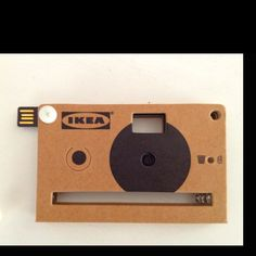The new digital camera by @IkeaItalia, made with paper #VenturaLambrate