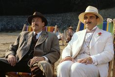 Poirot Rocks - and he's funny