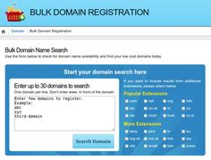 In a hurry? Check the availability status of many domain names at one time at CreateRegister.com.