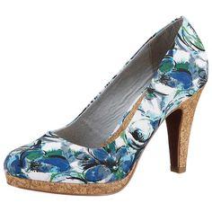 Die sehen so aus, als wären sie eine Bereicherung für meinen Schuhschrank. Marco Tozzi Pumps blau