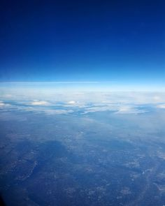 On the way to Palma De Mallorca #sky #airplaneview