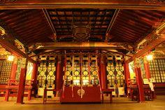 Yutoku Inari Shrine, Kashima city, Saga prefecture, Japan. By Yama Tomo on flickr