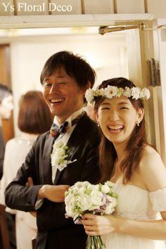 10月に横浜の山手ロイストン教会さんで挙式の新婦さんより、素敵なお写真をいただきましたので、ご紹介です。挙式が終わったところかしら?落ち感のきれいなエンパ...
