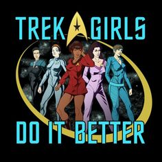 Check out this T-Shirt featuring women from all the Star Trek shows that WeLoveFine just released! You can get it from WeLoveFine in both men's and women's sizes.