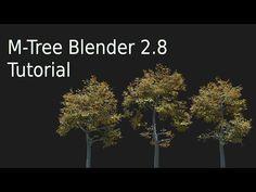 Blender 2.8 Create realistic trees easy - YouTube Blender 3d, Blender Models, Blender Architecture, 3d Computer Graphics, Blender Tutorial, 3d Video, Easy Youtube, 3d Tutorial, Animation Reference