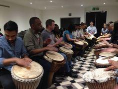 London African Drumming community workshop