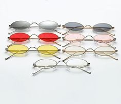 b67afa9e49c We are crushin  over these ultimate sunglasses featuring an oval metal  frame and retro style