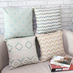 45*45CM Fashion Bohemian National Wind Sofa Cushion Covers Creative Geometry Letter Printed Cushion Covers Car Decoration V49 #Affiliate