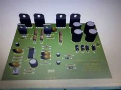 Subwoofer Home Theater Amplifier circuit is designed for subwoofer speaker system that used on Subwoofer Home Theater system.Using IC as a based filtering subwoofer signal input and as a buffer it's power amplifier Home Theater Amplifier, Home Theater Subwoofer, Home Theater Speakers, Diy Subwoofer, Subwoofer Speaker, Home Theater Setup, Home Theater Seating, Hifi Amplifier, Audiophile