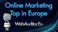 OnLine Marketing Top Europa's bitly.com/1FADEqY Europe's On-line Marketing Top #EuropeanBestOnlineMarketing #Webauditor.Eu #ԼավագույնՈրոնմանՄարքեթինգայինԽորհրդատվություն #OnlineMarketingofEuropes #EuropeanOnlineMarketing #HighMarketing #শ্রেষ্ঠইউরোপ... Guerilla Marketing, Event Marketing, Mobile Marketing, Affiliate Marketing, Marketing Innovation, Marketing Consultant, Content Marketing, Social Media Marketing, Internet Advertising