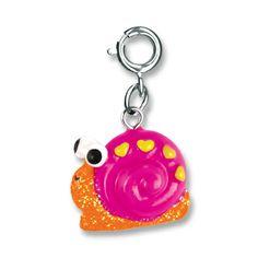 Shop CHARM IT! - Happy Snail, $6.00 (http://www.shopcharm-it.com/charms/happy-snail/)