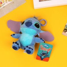 Stitch Bag Hook Cushion Plush Doll Disney Toy Small Lilo and Stitch Korean Girl
