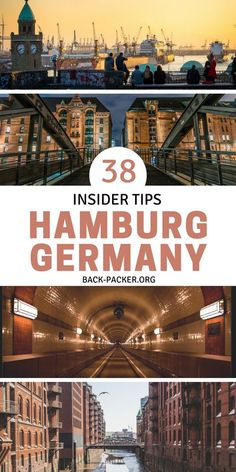 Insider Tips & Things to do in Hamburg: the ultimate Hamburg Guide 38 insider tips and things to do in Hamburg: the ultimate Hamburg guide. Winter or summer, this city offers a plethora of attractions. Harbor ferries serve as one of the best ways to g Europe Destinations, Europe Travel Tips, Hamburg Guide, Hotel Istanbul, Germany Travel, Germany Europe, Stuff To Do, Things To Do, Hotel Paris