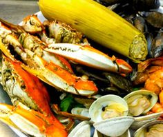 Seafood platter from Cantler's Riverside Inn in Annapolis, Maryland. (Photo: Cantler's) #food