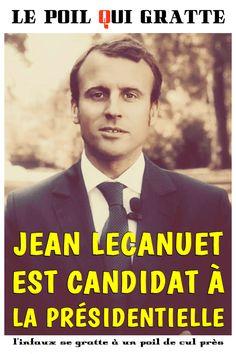 [LPQG Niouzes] Jean Lecanuet est candidat à la présidentielle