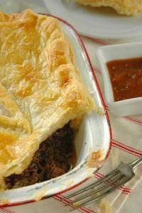Traditional South African Venison Pie with Red Wine and Rooibos Tea Venison Pie, South African Recipes, Ethnic Recipes, Food Tags, Pepper Steak, Slow Food, Tea Recipes, Free Range, Tasty