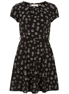 Billie and Blossom daisy fit and flare dress