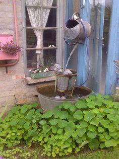 Waterfeature in my garden