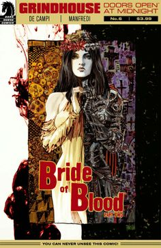 Comic Review: Grindhouse: Doors Open at Midnight (Bride of Blood) #5, #6 | I Smell Sheep