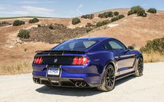 The new Shelby GT350, a Ford-modified Mustang model, gains a high-tech 5.2-liter V-8 engine producing 526 horsepower, but also exhibits nimble handling on the track.