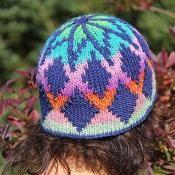 Sky Diamond DK Hat - via @Craftsy