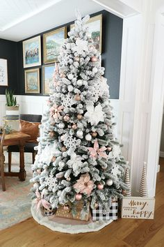 Christmas Home Tour - House Becomes Home Interiors