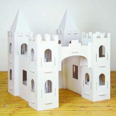 Castillo de cartón Calacastle de Calafant. Entrega en 24/48 horas.