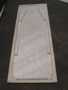 How to make an ironing board topper   Wild Onion