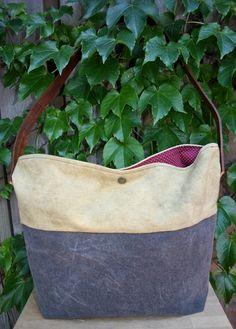 Madrad Transit Bag, Natural Dye & Waxed by MadradTextiles, $150.00