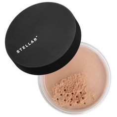 Shop STELLAR*'s Cosmic Face Powder in Glow 03 (translucent rich finishing powder) at Sephora. This perfecting powder offers all-day, sheer coverage for a uniform, poreless look. Performance Makeup, How To Apply Concealer, Finishing Powder, Loose Powder, Face Powder, Setting Powder, Flawless Skin, Summer Makeup, Simple Makeup