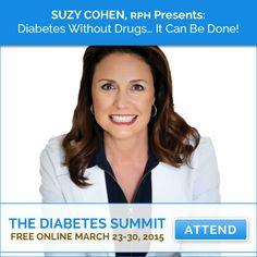 Suzy Cohen, RPh - The Diabetes World Summit