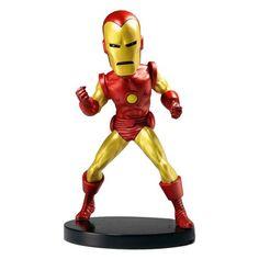 Marvel Classic Iron Man Extreme Bobble Head NECA Iron Man Bobble Heads
