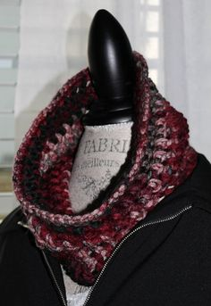 Chunky Mens or Womens Neckwarmer/ Infinity by SnugableTouches, $15.00