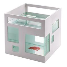 square fish bowl