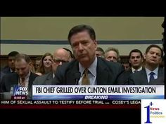 FBI Chief Grilled Over Clinton Email Investigation - On The Record | 1Plus News