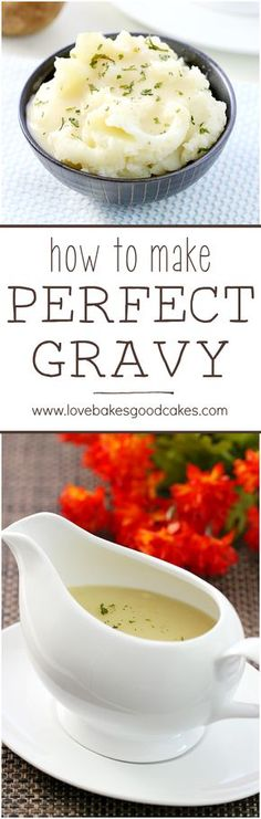 Don't buy that canned stuff - I'll show you how to make PERFECT GRAVY - flavorful and no lumps! Perfect for holidays!