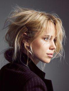 Elin Kling, hair.