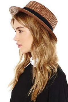 sombrero mujer boater hat