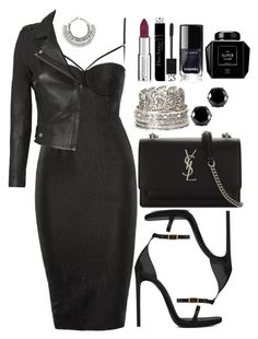 """""""Untitled #4700"""" by natalyasidunova ❤ liked on Polyvore featuring Topshop, Yves Saint Laurent, IRO, West Coast Jewelry, Charlotte Russe, Givenchy, Christian Dior and Barneys New York"""