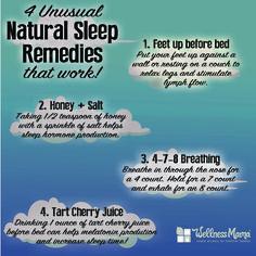 4 Natural Sleep Remedies #sleep #wellnessmama #remedies