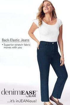 Elastic Jeans, Elastic Waist, Stretch Denim, Stretch Fabric, Alegria Shoes, Sleek Look, Perfect Fit, Skinny Jeans, Fashion Outfits