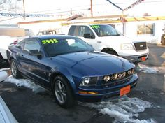 This 2006 Ford Mustang V6 Deluxe is listed on Carsforsale.com for $5,995 in Boise, ID. This vehicle includes Airbag Deactivation - Occupant Sensing Passenger, Anti-Theft System - Engine Immobilizer, Center Console - Front Console With Storage, Child Seat Anchors, Clock, Cruise Control, Cupholders, Driver Seat Manual Adjustments - 8, Driver Seat Manual Adjustments - Height, Emergency Interior Trunk Release, Floor Mat Material - Carpet, Floor Mats - Front, Front Air Conditioning, Front…
