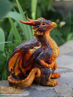 Molten Lava Dragon by The-SixthLeafClover.deviantart.com