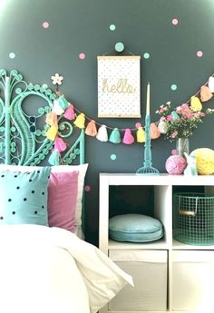 Awesome 40 Cute Craft Ideas for Teen Girl Bedroom https://decorisart.com/28/40-cute-craft-ideas-teen-girl-bedroom/