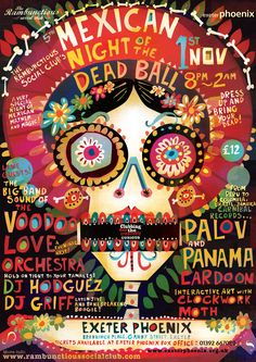 Mexican-Night-of-the-dead-ball-2014