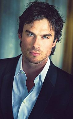 Ian Somerhalder from Vampire Diaries One sexy beast. His hair and eyes.