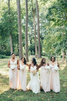 Soft blush bridesmaid dresses Destination Wedding Planner, Wedding Coordinator, Wedding Planning, Georgia Wedding, Atlanta Wedding, Wedding Fair, Wedding Blush, Wedding Attire, Wedding Dresses
