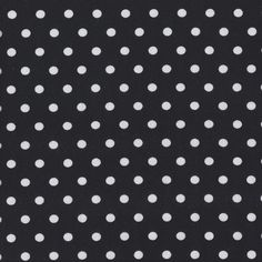 Dots - White on Black - Stenzo Jersey Knit