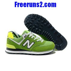 outlet store 1e861 570b8 New Balance Yacht Club lovers White Green women NB Shoes